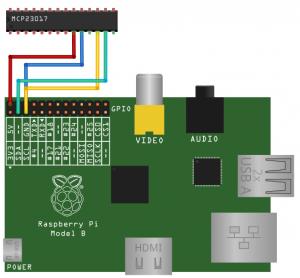 MCO23017 und Raspberry Pi